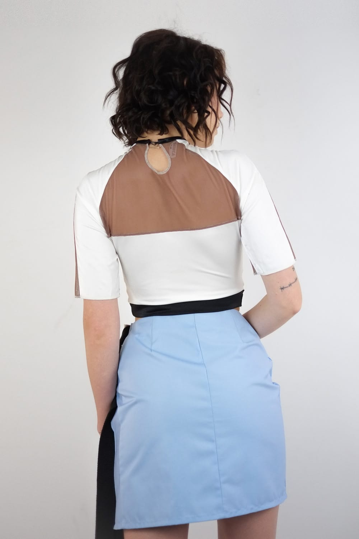 Blue Buckle Scrapz Skirt 4