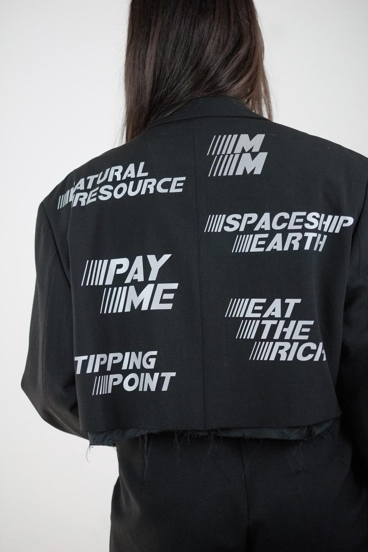 Reflective Cropped Jacket 3