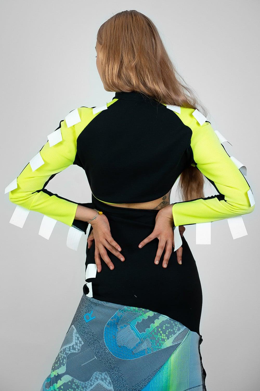 Jingfu Upcycled Adidas Gown 3