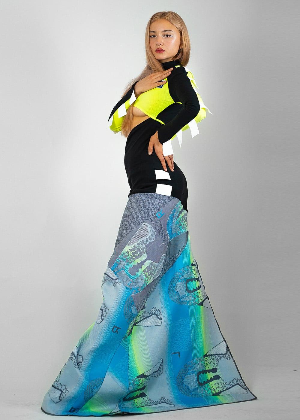 Jingfu Upcycled Adidas Gown 2