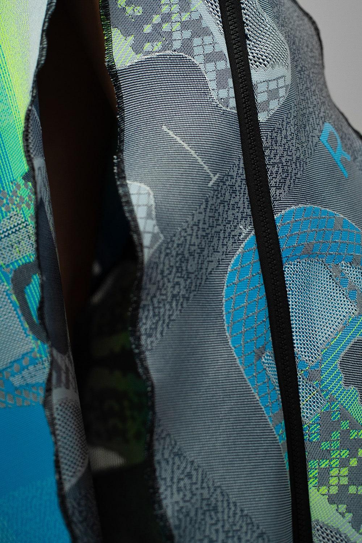 Jingfu Upcycled Adidas Gown 6