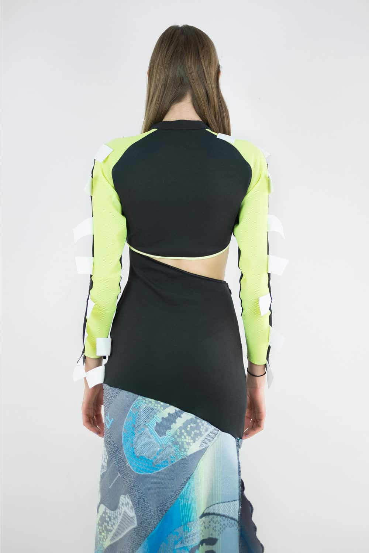 Jingfu Upcycled Adidas Gown 9
