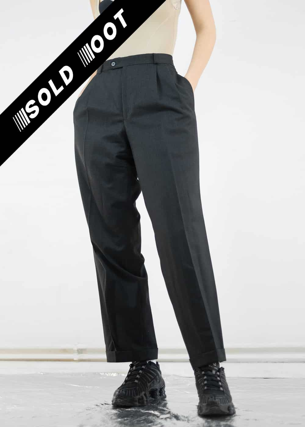 Black Suit Trousers 170