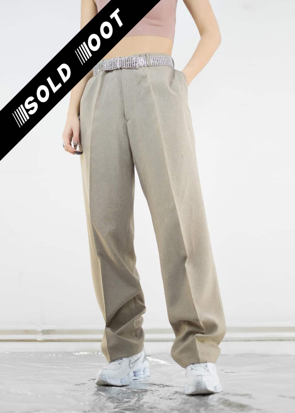 Sand Suit Trousers 175