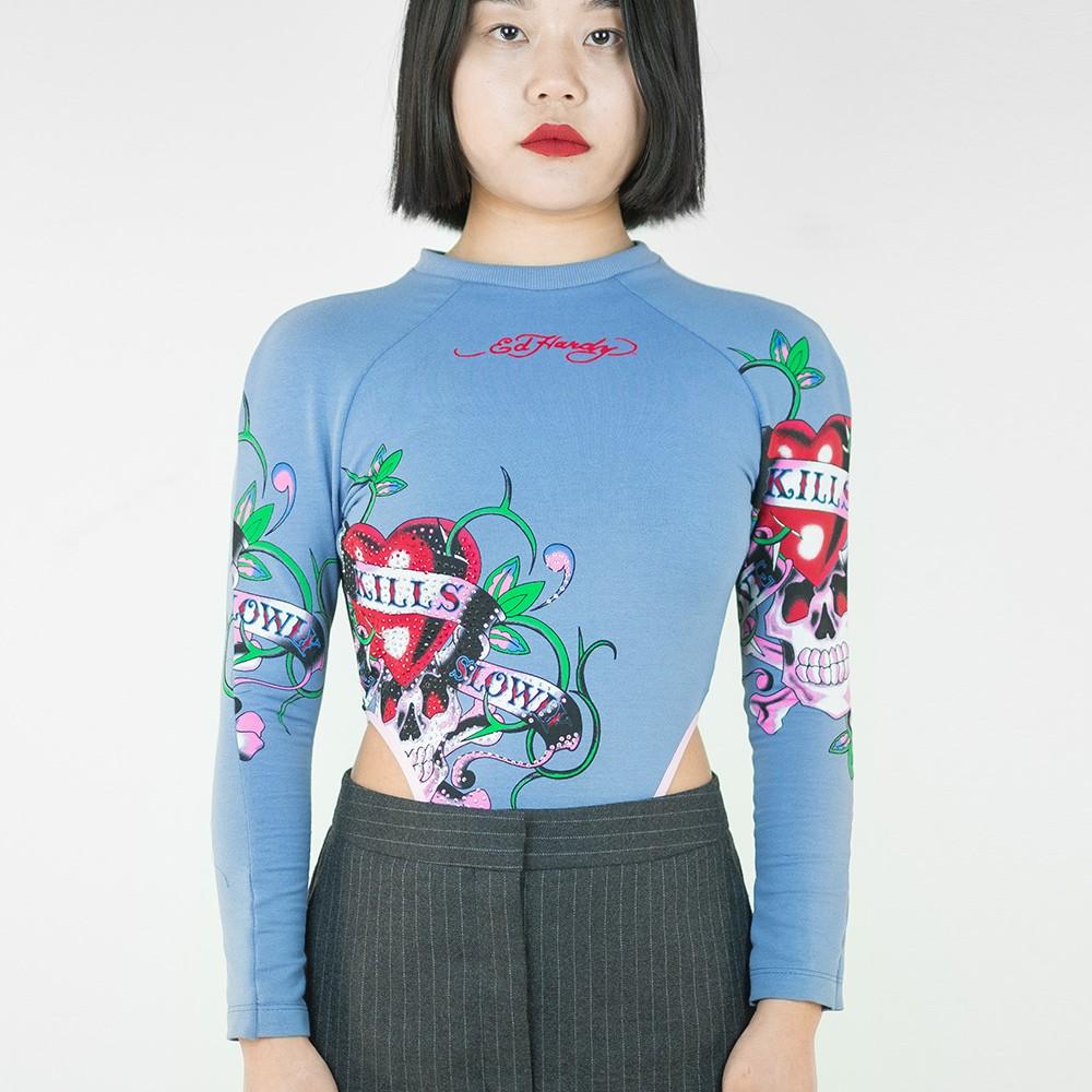 Hard-y Reworked Bodysuit 10