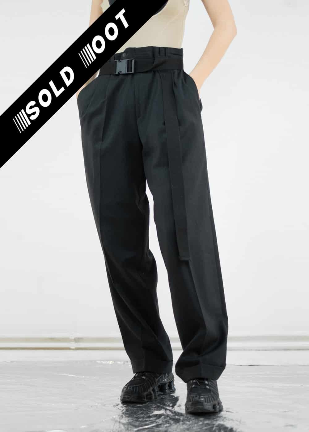 Black Suit Trousers 166