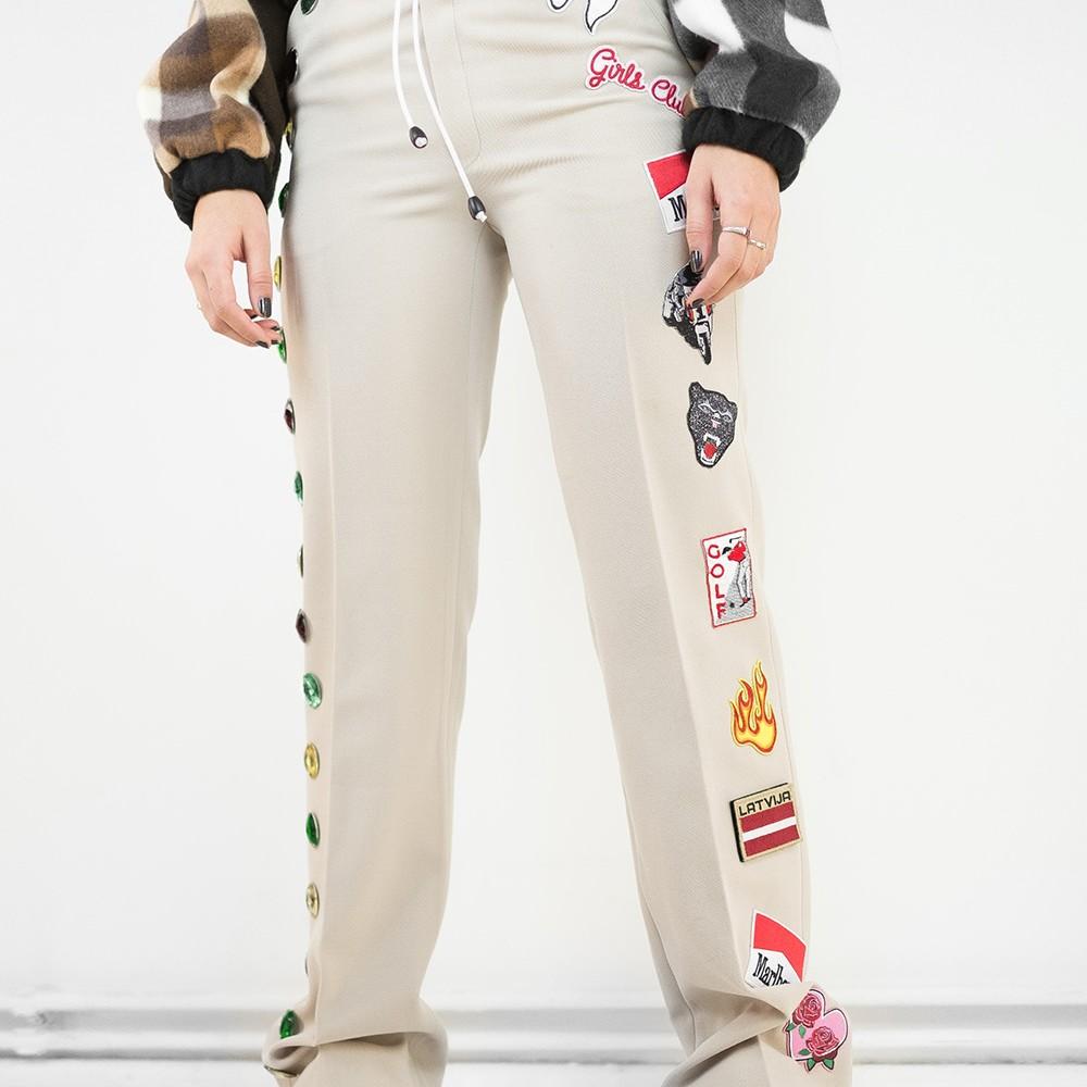Gem & Patch Trousers 8