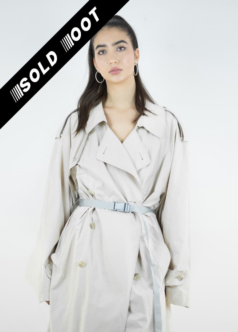 Beige Trench Coat 170