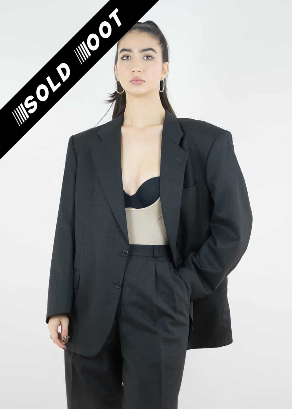 Black Suit Jacket 176