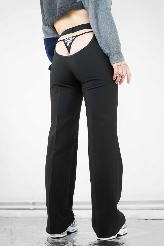 Black Butt Pants 4
