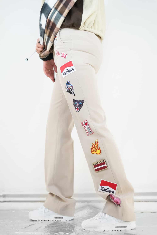Gem & Patch Trousers 3