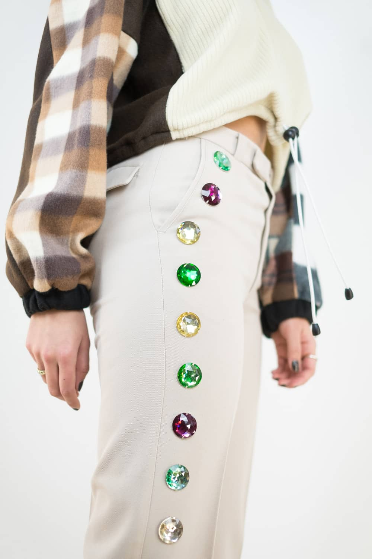 Gem & Patch Trousers 2