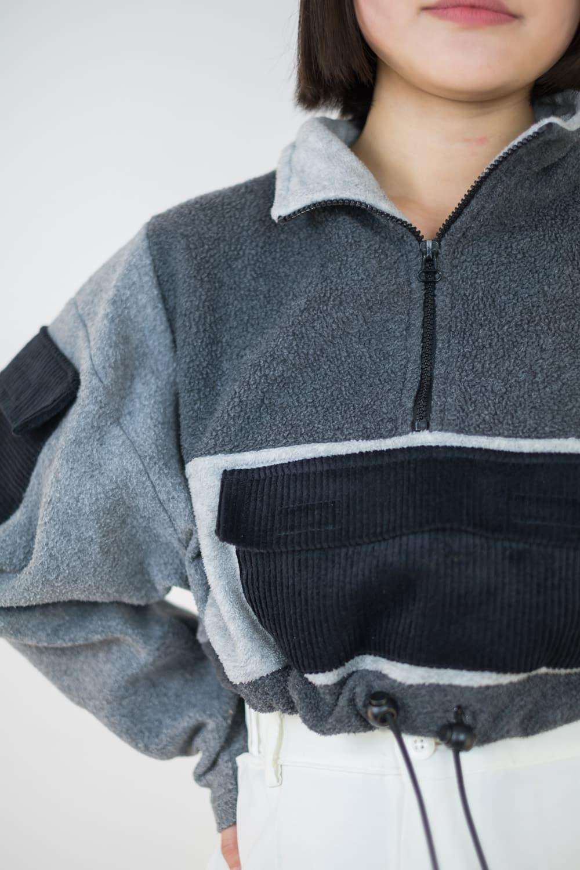 Reworked Crop Fleece 6