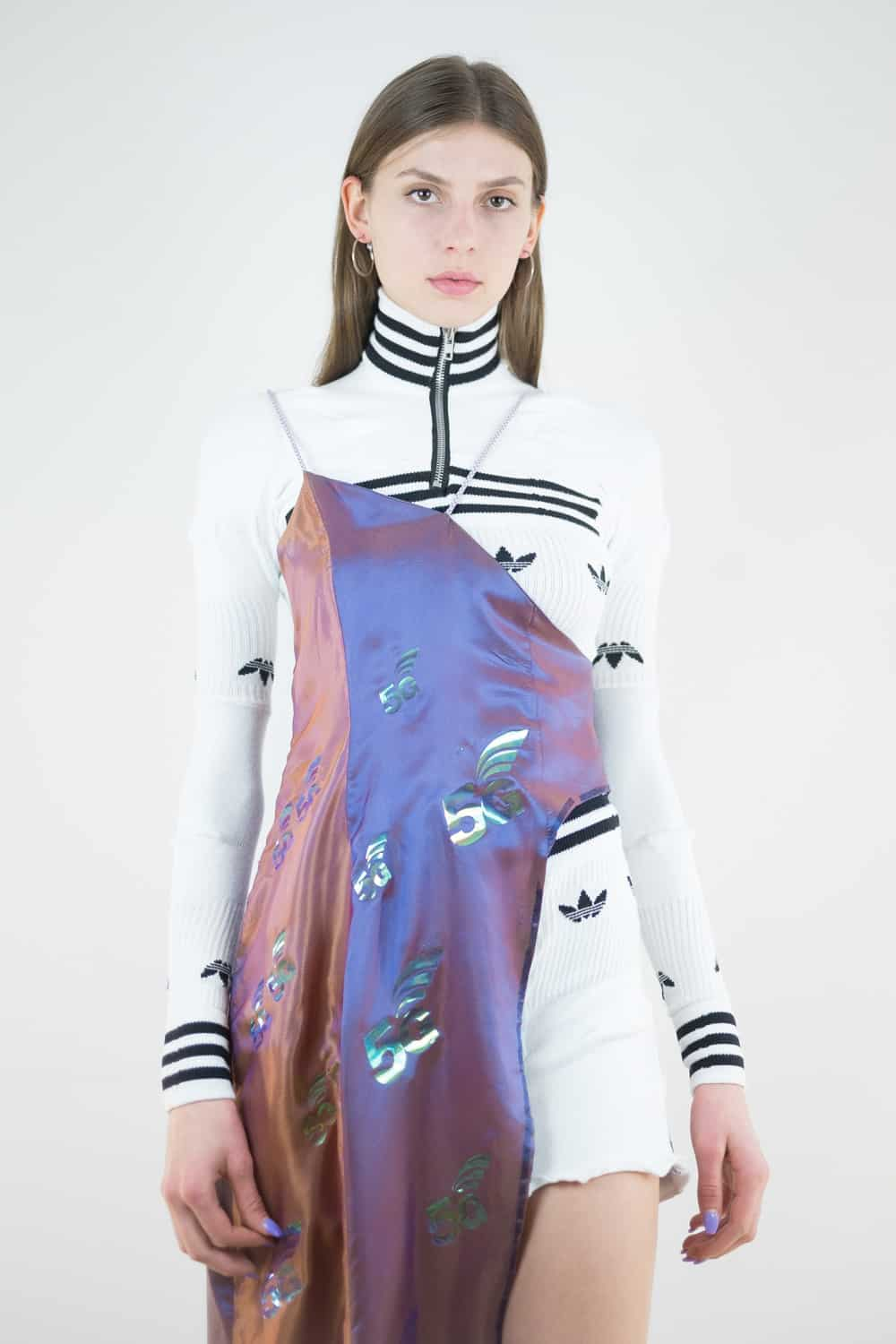 5G Upcycled Adidas Gown 5