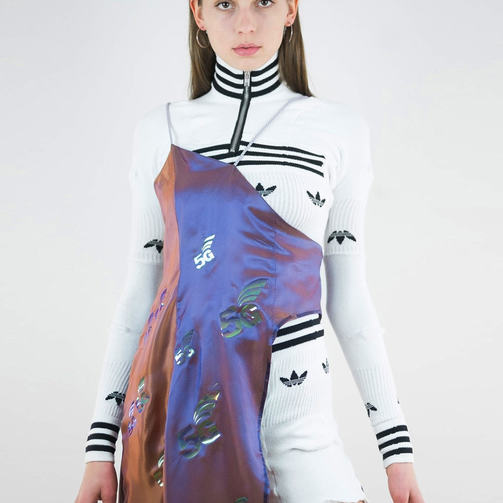 5G Upcycled Adidas Gown 1
