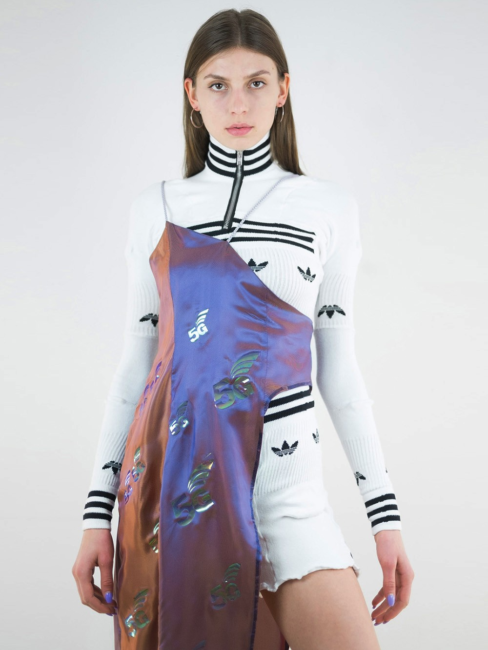 5G Upcycled Adidas Gown 167