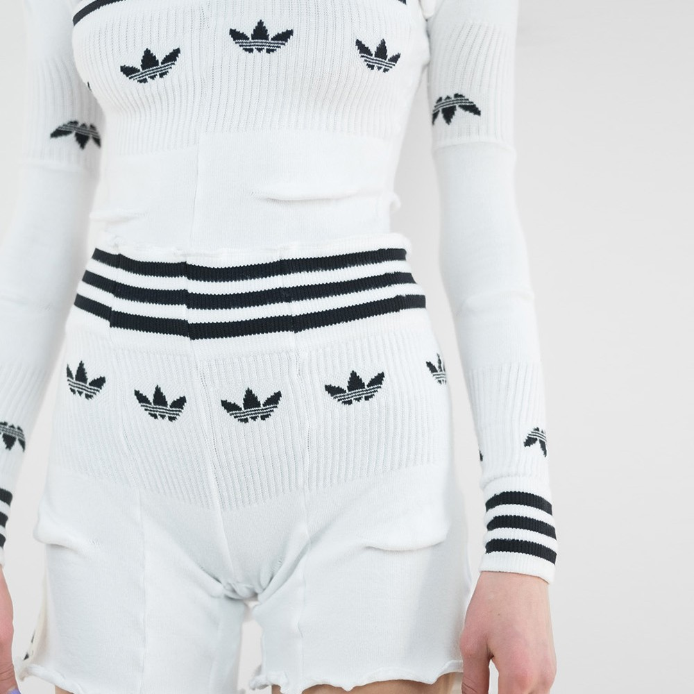 Reworked Adidas Sock Shorts 4
