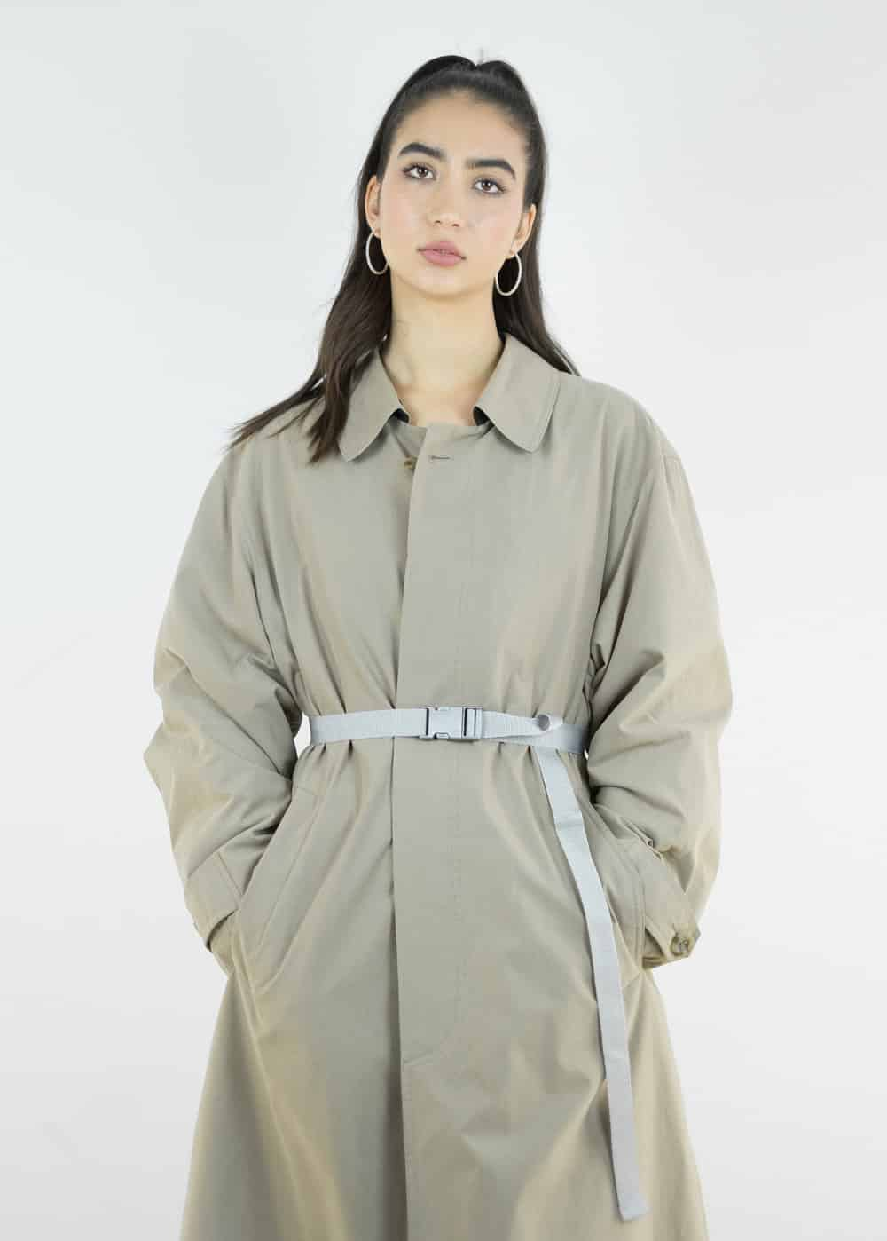Khaki Trench Coat 163