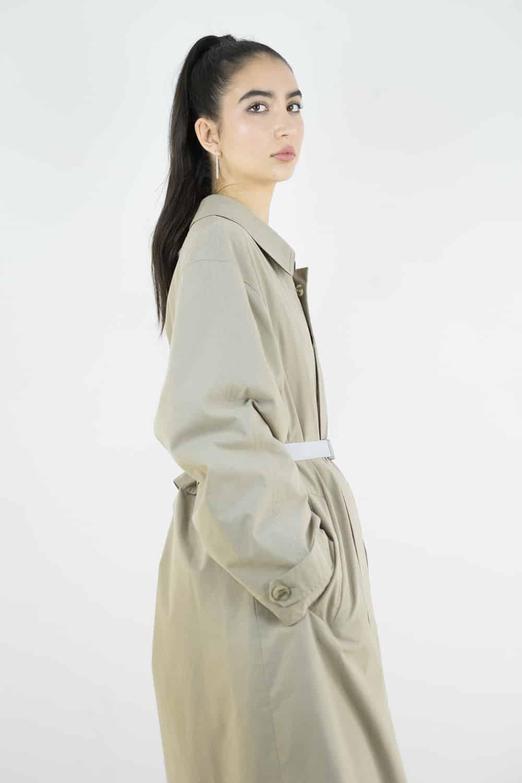 Khaki Trench Coat 2