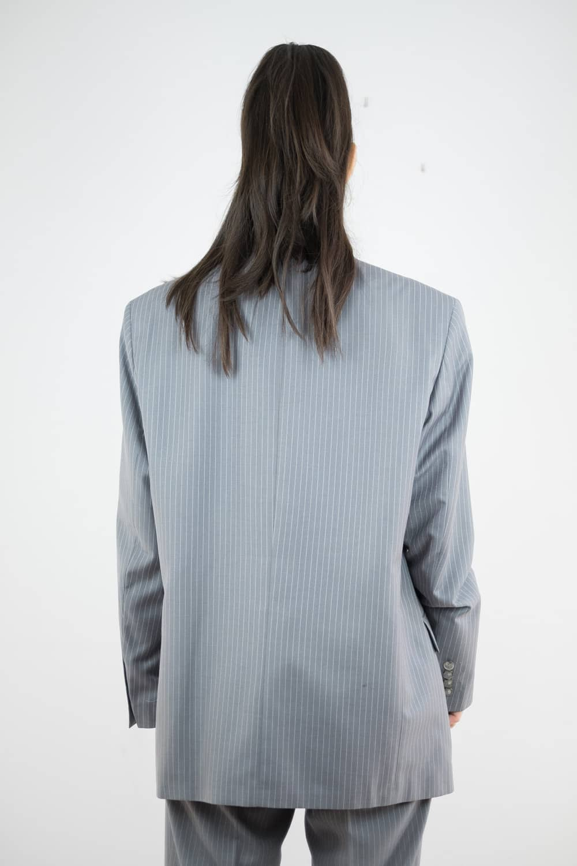 Pinstripe Suit Jacket 3