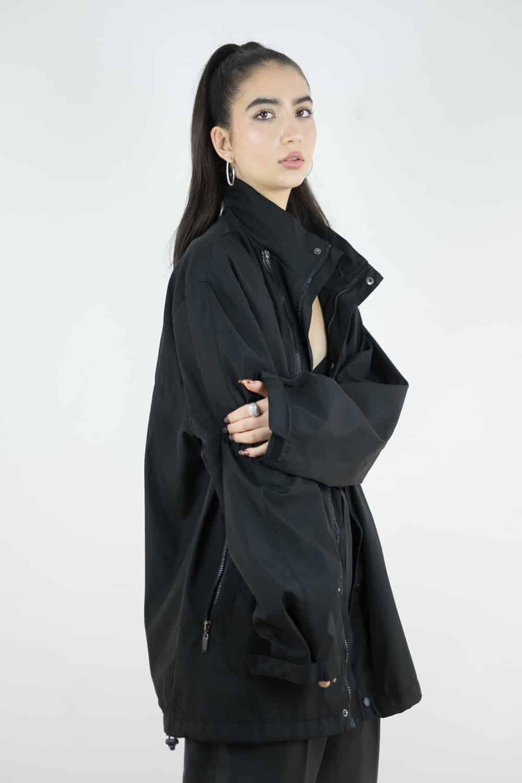 Black Rain Jacket 3