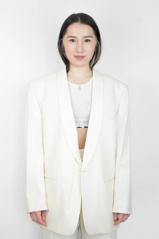 Cream Suit Combo 2