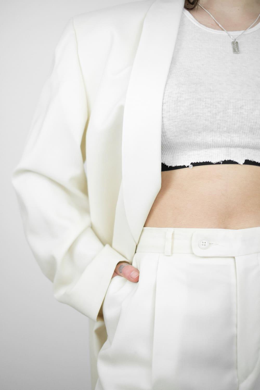 Cream Suit Combo 5
