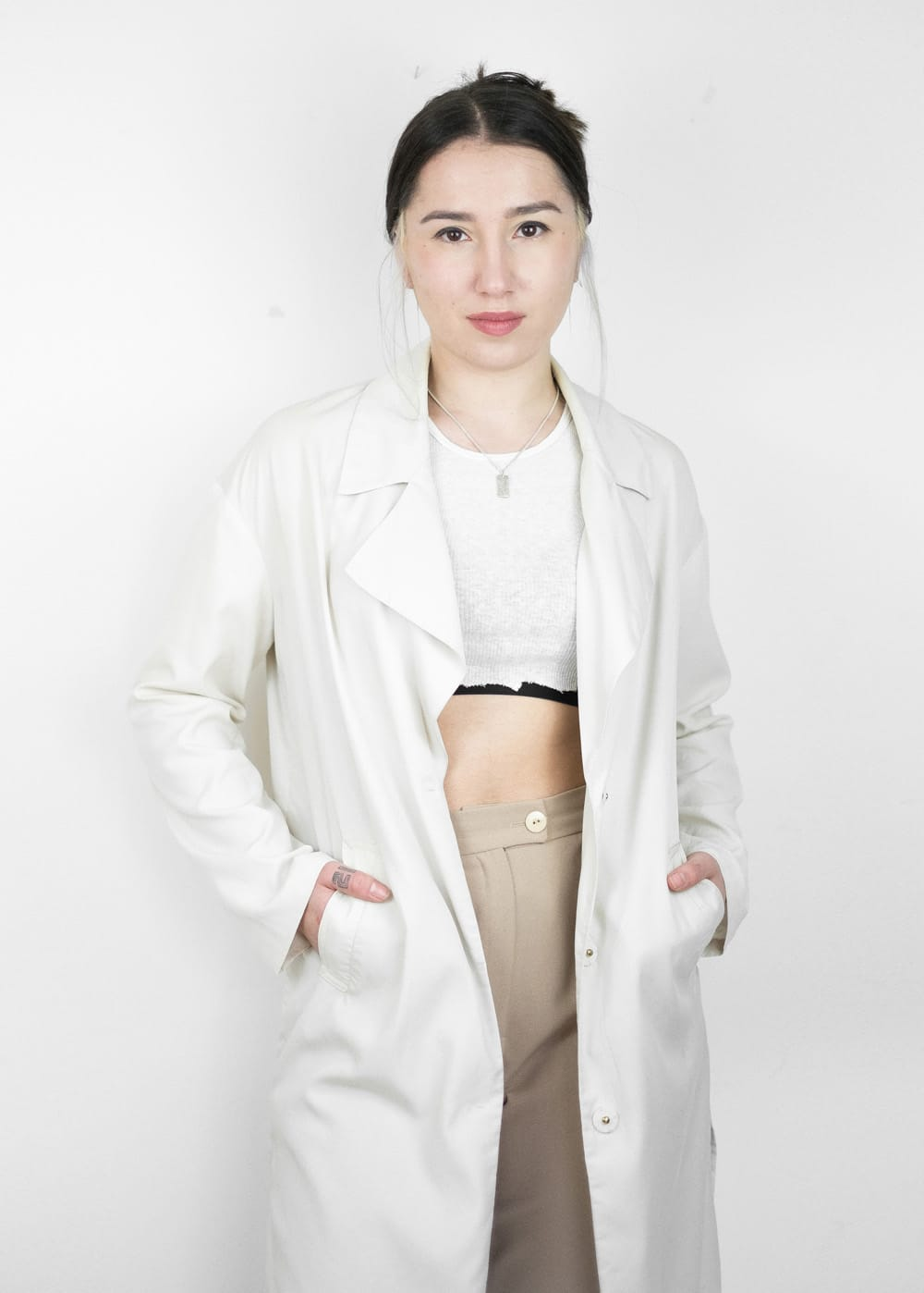 Lyocell Trench Coat 5