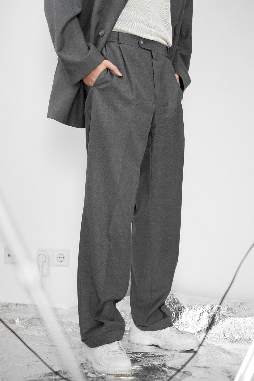 Grey Suit Combo 6