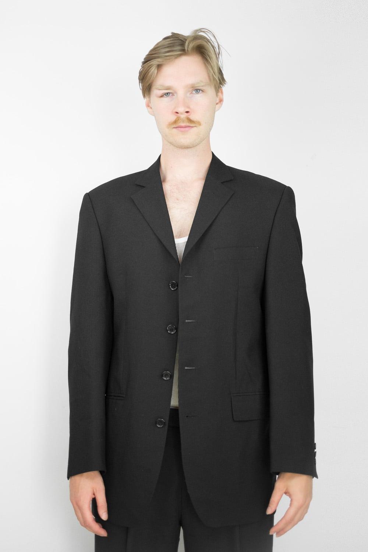 Just Black Suit Jacket 2