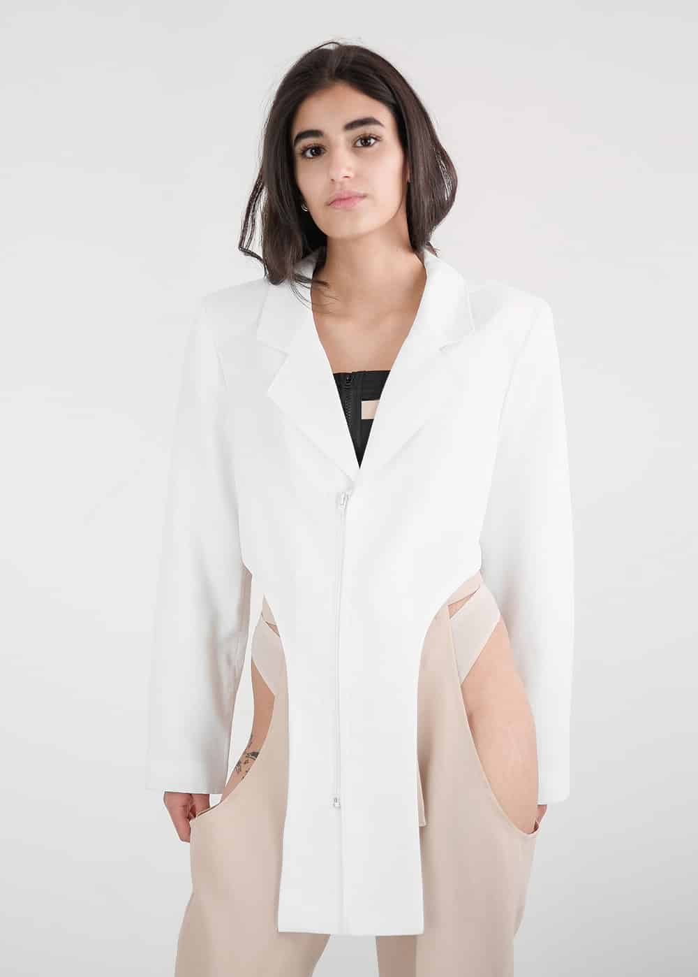 Arched Suit Jacket 1