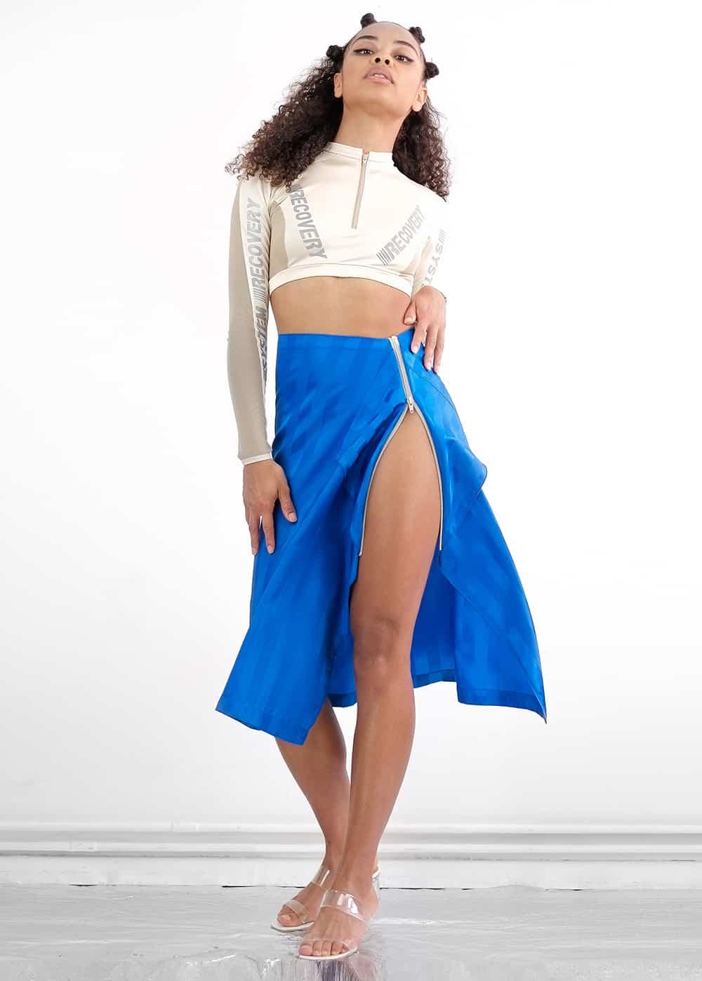 Ocean Scarf Skirt 73