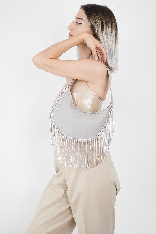 Sparkle Leather Bag 6
