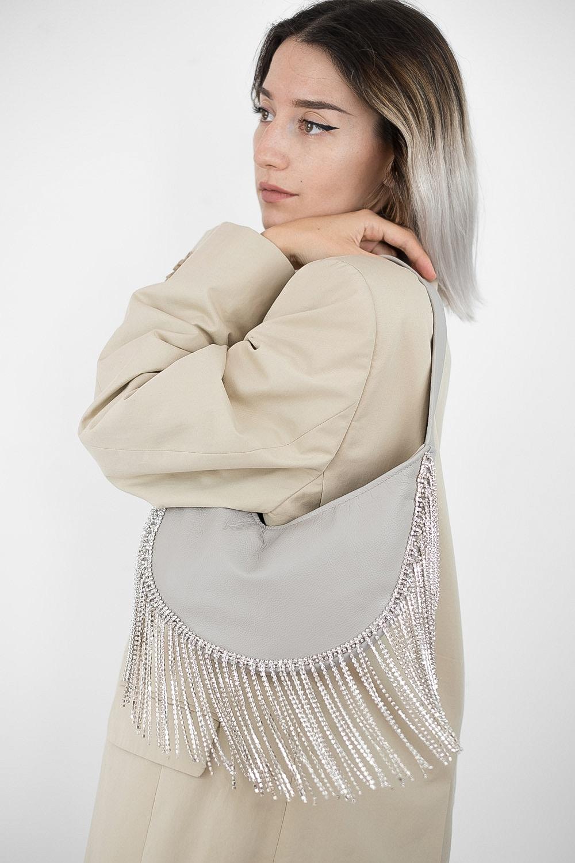 Sparkle Leather Bag 4