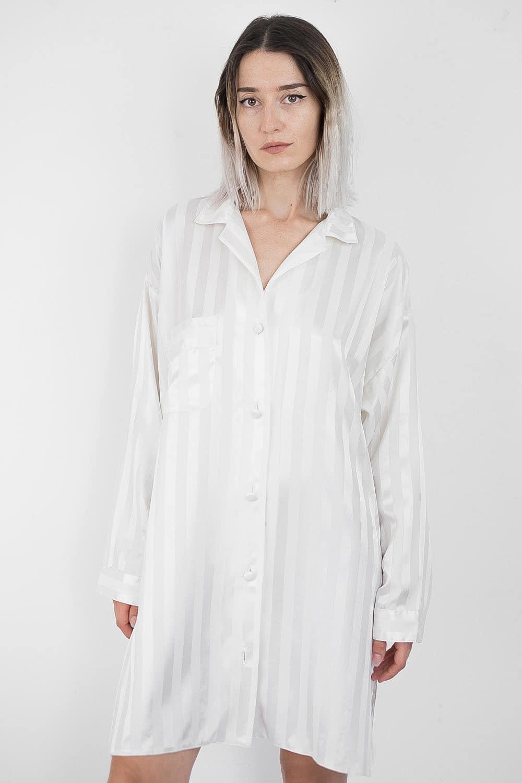 Satin Striped Shirt 3
