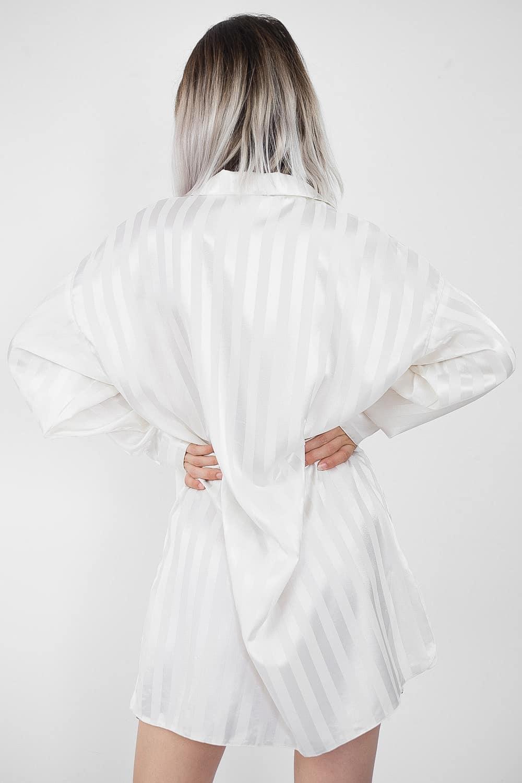 Satin Striped Shirt 5