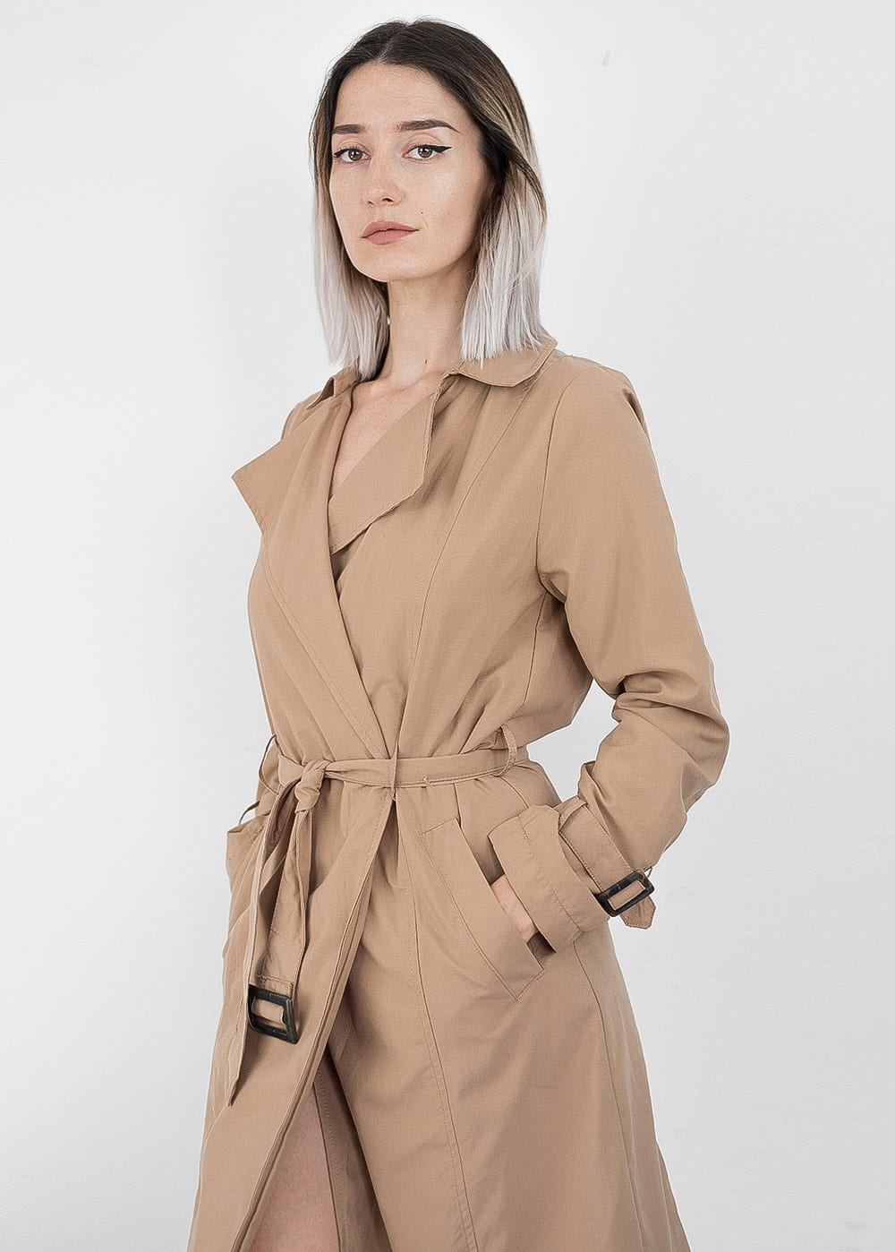 Slim Trench Coat 50