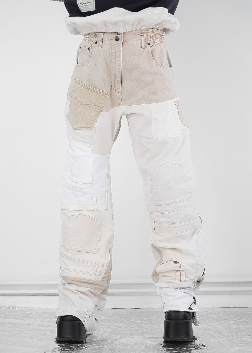 Oat Mix Pants 5