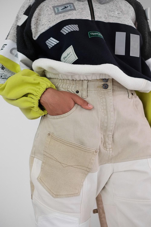 Oat Mix Pants 6