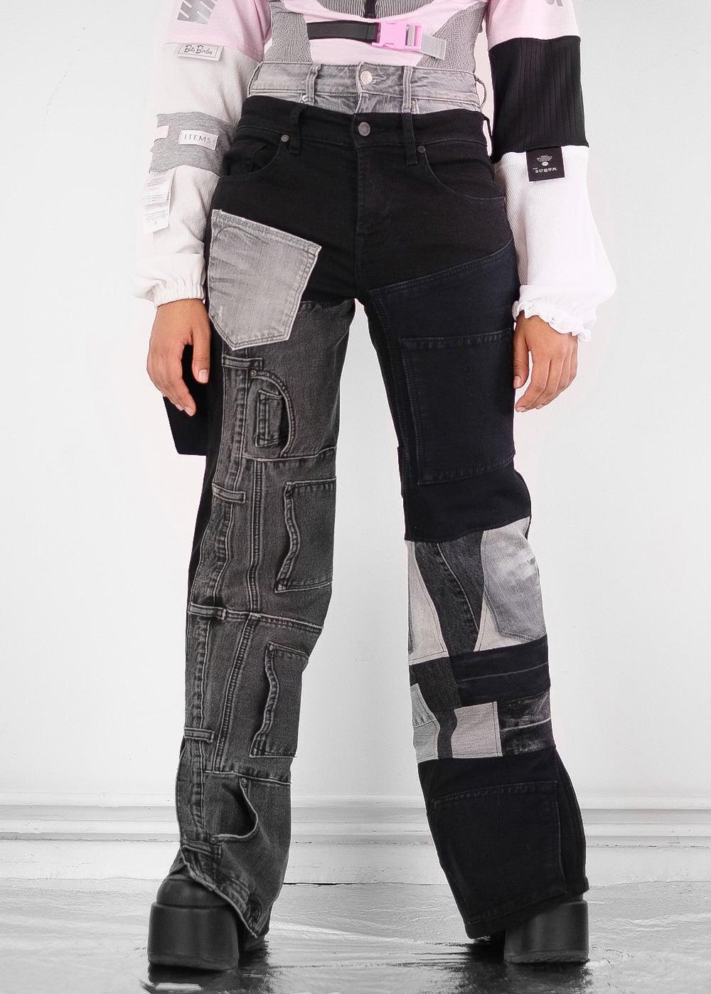 Mono Mix Jeans 33