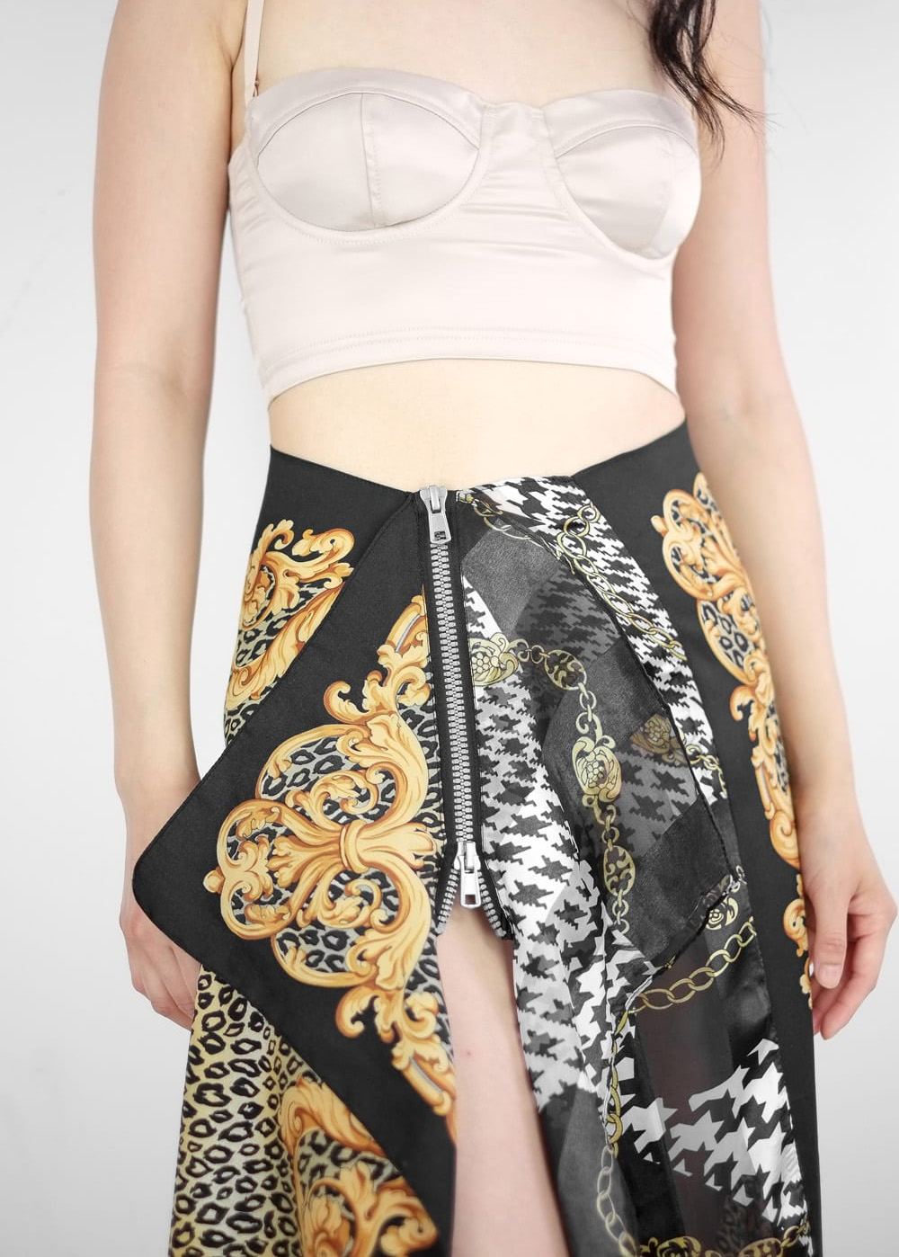 Breeze Scarf Skirt 1