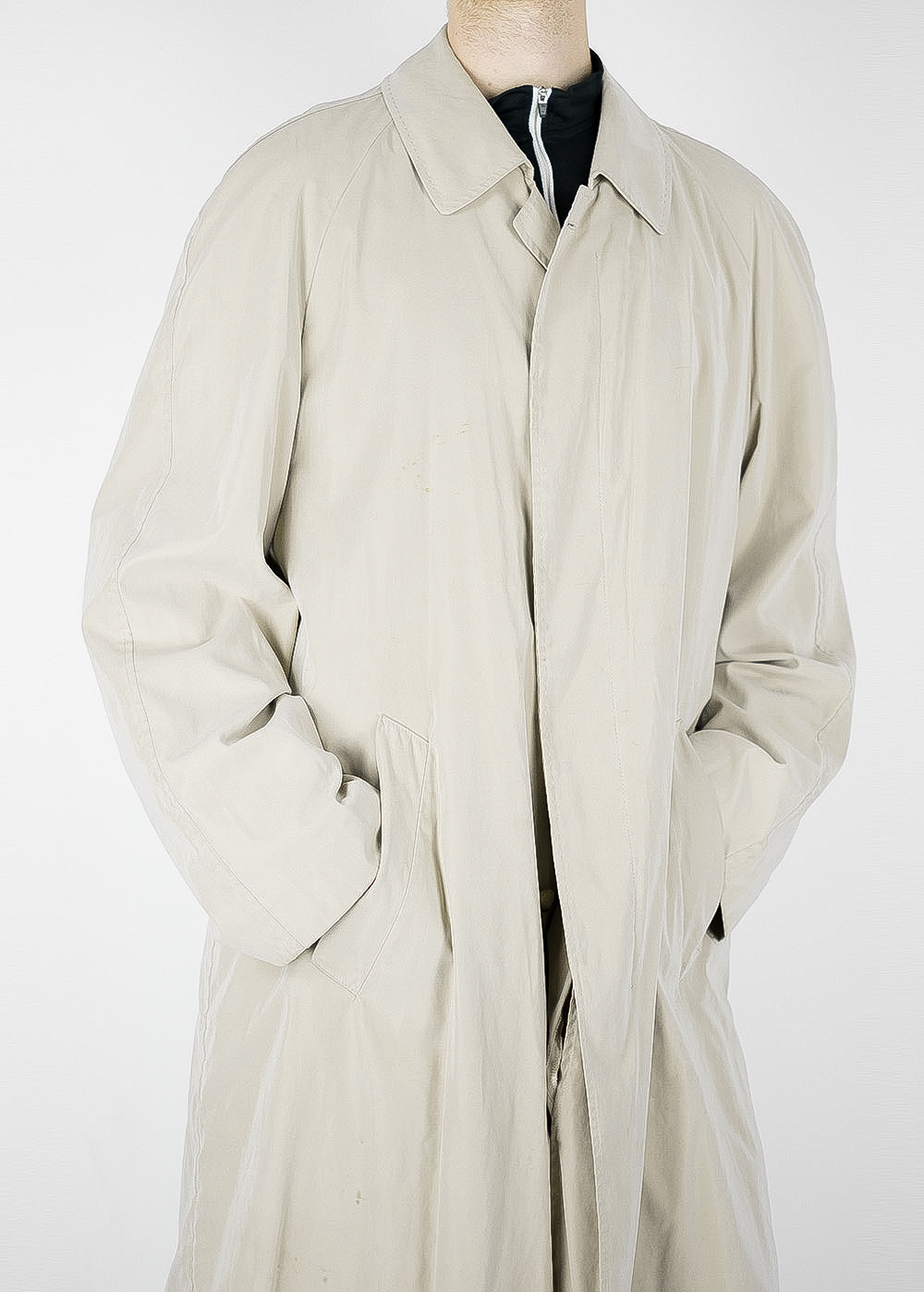 Light Beige Trench Coat 9