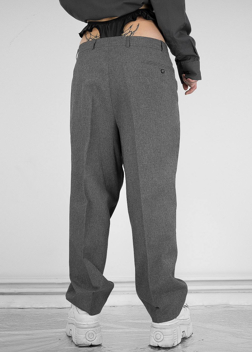 Heather Grey Pants 8