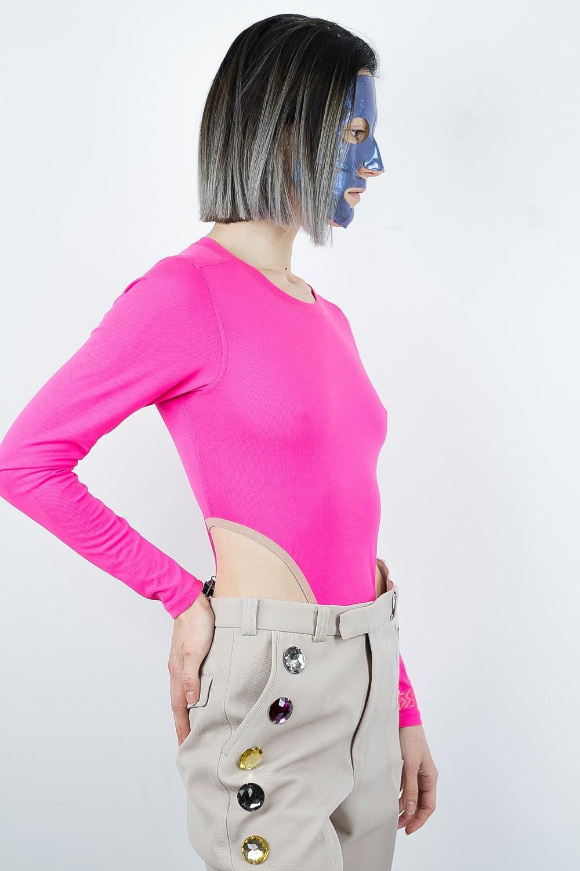 Pinkest Ever Bodysuit 3