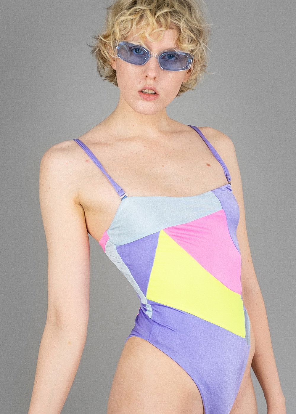 Upcycled Sea Swimsuit 1